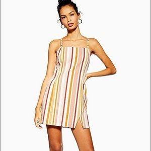 Mink pink striped dress